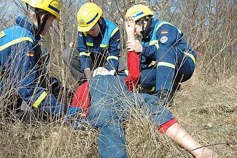 Erste Hilfe Maßnahmen Trainieren