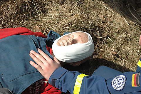 Erst-Versorgung der Verletzungen