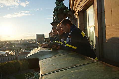 Blick über die Dächer Berlins