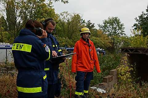 Ortung von Überlebenden mit seismischen Sensoren