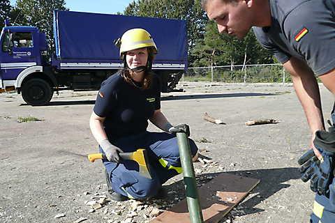 Grundausbildung im Ortsverband Stralsund