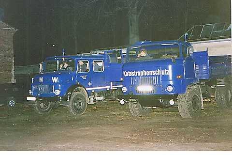 Fahrzeuge THW OV Stralsund  1991
